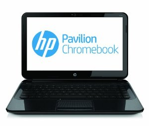 HP Chromebook 14-c050 (Sparkling Black)