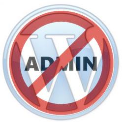 Do not use username admin in WordPress