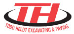 Todd Heldt Grading and Paving Services logo